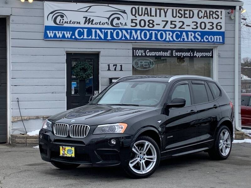 2014 BMW X3 for sale at Clinton MotorCars in Shrewsbury MA