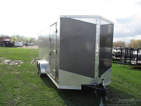 2021 RC Trailers Enclosed Cargo RDLX 7X18TA2 for sale at Rondo Truck & Trailer in Sycamore IL