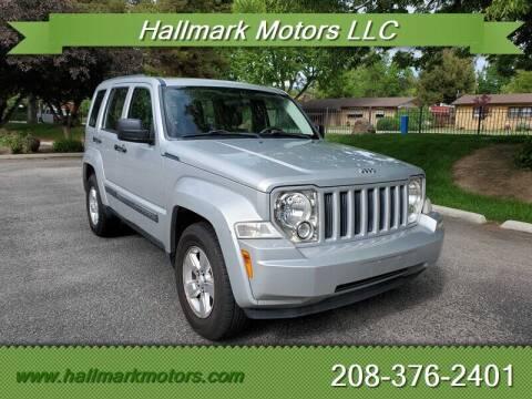 2012 Jeep Liberty for sale at HALLMARK MOTORS LLC in Boise ID