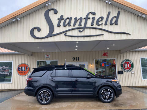 2015 Ford Explorer for sale at Stanfield Auto Sales in Greenfield IN