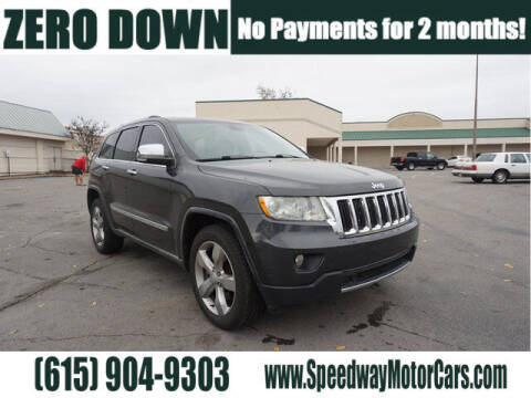 2011 Jeep Grand Cherokee for sale at Speedway Motors in Murfreesboro TN