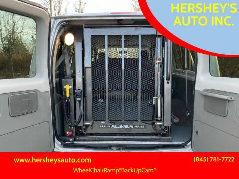 2014 Ford E-Series Wagon for sale at HERSHEY'S AUTO INC. in Monroe NY