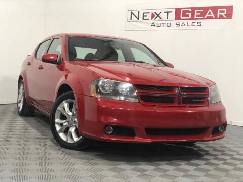 2013 Dodge Avenger for sale at Next Gear Auto Sales in Westfield IN
