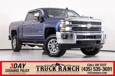 2018 Chevrolet Silverado 3500HD for sale at Truck Ranch in Logan UT