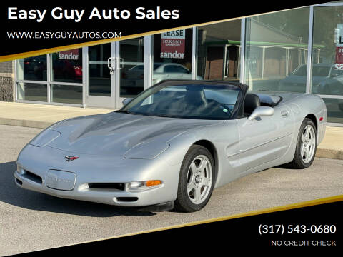 1999 Chevrolet Corvette for sale at Easy Guy Auto Sales in Indianapolis IN