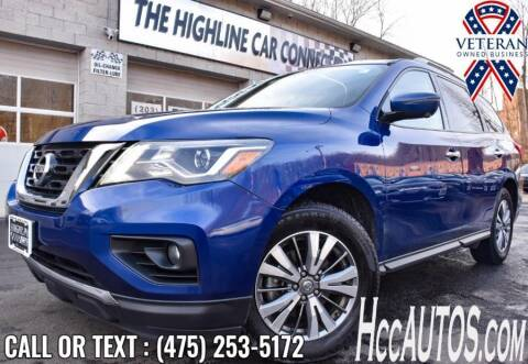 2019 Nissan Pathfinder for sale at The Highline Car Connection in Waterbury CT