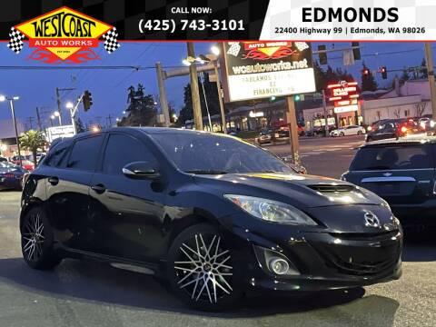 2012 Mazda MAZDASPEED3 for sale at West Coast Auto Works in Edmonds WA
