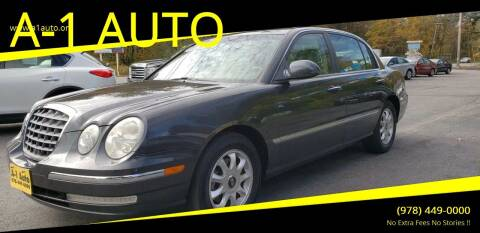 2006 Kia Amanti for sale at A-1 Auto in Pepperell MA