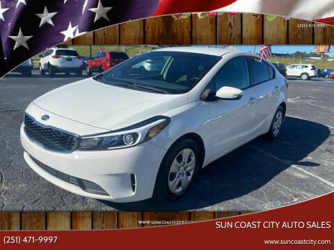 2017 Kia Forte for sale at Sun Coast City Auto Sales in Mobile AL