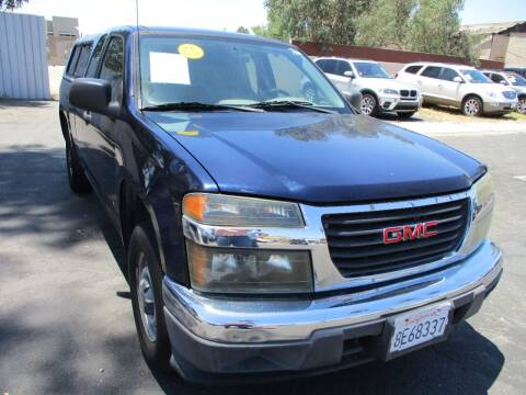 2007 GMC Canyon for sale at F & A Car Sales Inc in Ontario CA