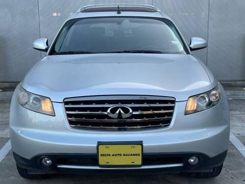 2008 Infiniti FX35 for sale at Delta Auto Alliance in Houston TX