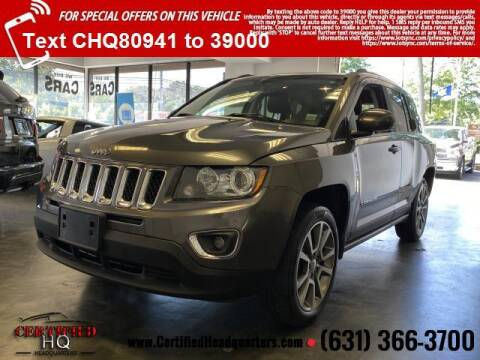 2015 Jeep Compass for sale at CERTIFIED HEADQUARTERS in Saint James NY