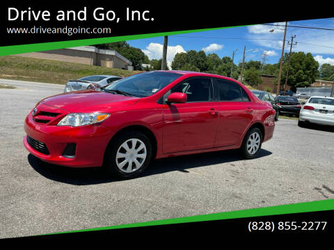 2011 Toyota Corolla for sale at Drive and Go, Inc. in Hickory NC