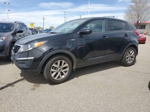 2016 Kia Sportage for sale at Revolution Auto Group in Idaho Falls ID