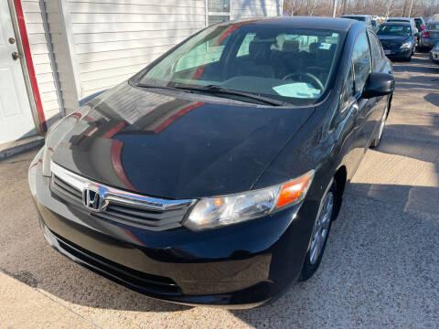 2012 Honda Civic for sale at Best Deal Motors in Saint Charles MO