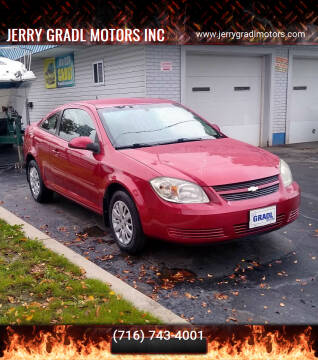 2010 Chevrolet Cobalt for sale at JERRY GRADL MOTORS INC in North Tonawanda NY