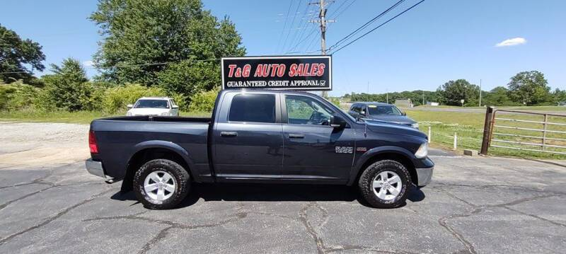 2015 RAM Ram Pickup 1500 for sale at T & G Auto Sales in Florence AL