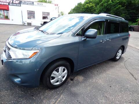 2012 Nissan Quest for sale at Chris's Century Car Company in Saint Paul MN