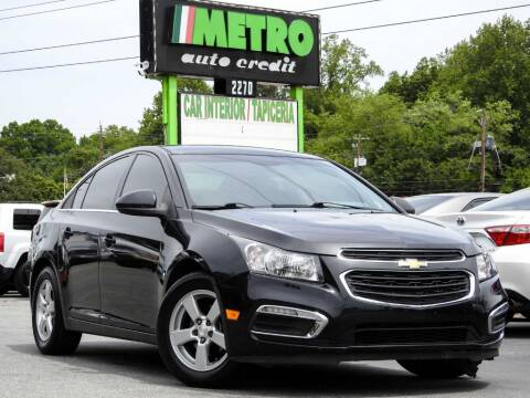 2016 Chevrolet Cruze Limited for sale at Used Imports Auto - Metro Auto Credit in Smyrna GA