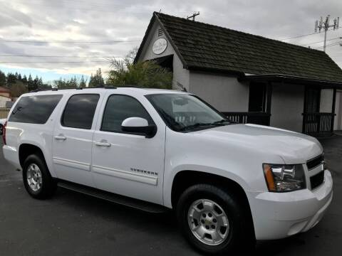 2012 Chevrolet Suburban for sale at Three Bridges Auto Sales in Fair Oaks CA