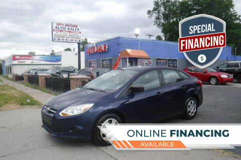 2012 Ford Focus for sale at City Motors Auto Sale LLC in Redford MI