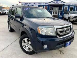 2010 Honda Pilot for sale at Cj king of car loans/JJ's Best Auto Sales in Troy MI