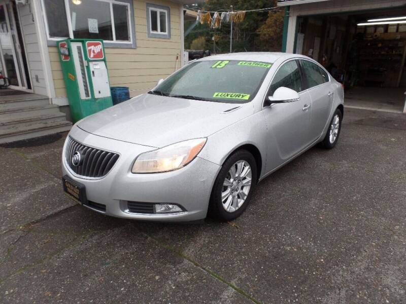 2013 Buick Regal for sale at Gold Key Motors in Centralia WA