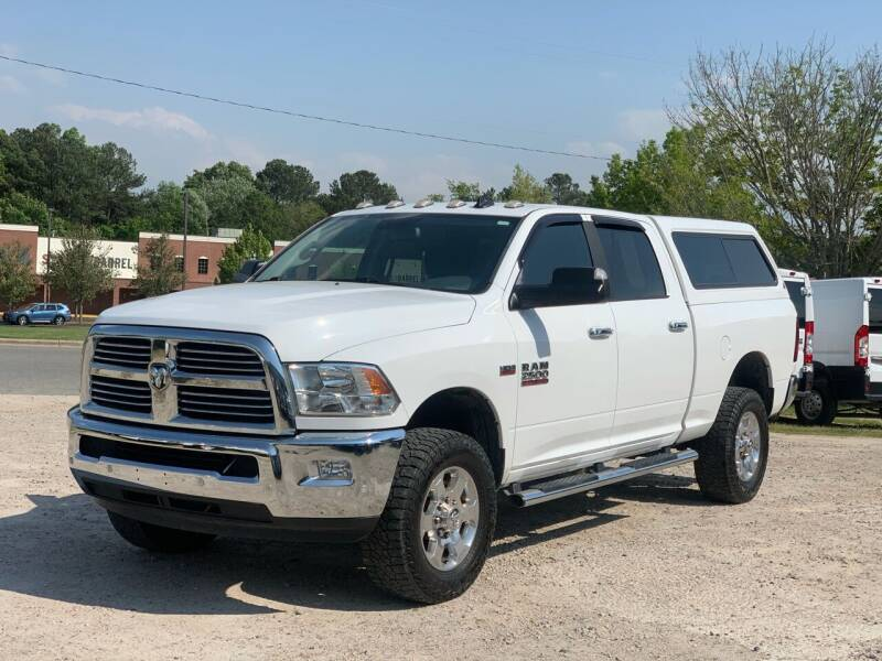 2017 RAM Ram Pickup 2500 for sale at DAB Auto World & Leasing in Wake Forest NC