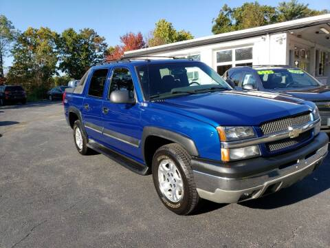 2003 Chevrolet Avalanche for sale at Highlands Auto Gallery in Braintree MA