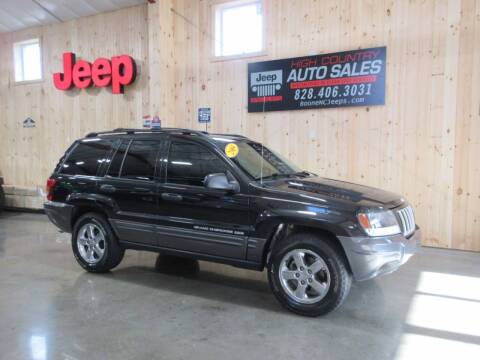 2004 Jeep Grand Cherokee for sale at Boone NC Jeeps-High Country Auto Sales in Boone NC