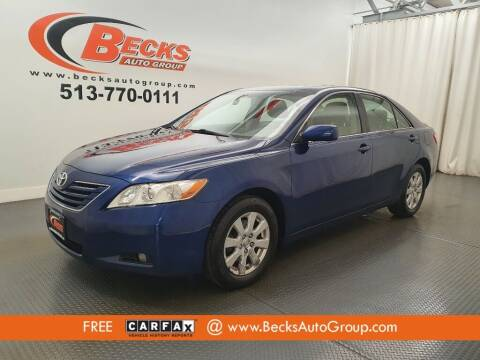 2007 Toyota Camry for sale at Becks Auto Group in Mason OH