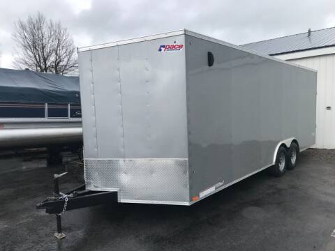 2021 Pace American 8.5x22 V-Nose Tandem Axle 10k for sale at Forkey Auto & Trailer Sales in La Fargeville NY