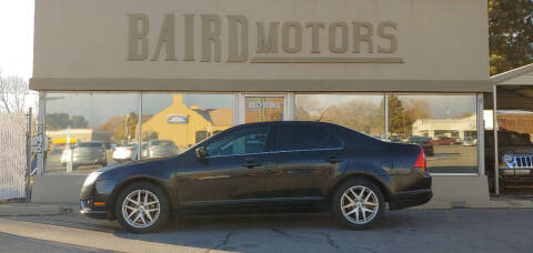 2012 Ford Fusion for sale at BAIRD MOTORS in Clearfield UT