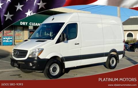 2017 Mercedes-Benz Sprinter Cargo for sale at Platinum Motors in San Bruno CA