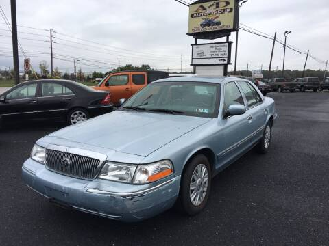 2003 Mercury Grand Marquis for sale at A & D Auto Group LLC in Carlisle PA