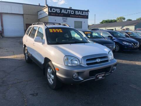 2006 Hyundai Santa Fe for sale at Lo's Auto Sales in Cincinnati OH