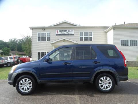 2005 Honda CR-V for sale at SOUTHERN SELECT AUTO SALES in Medina OH