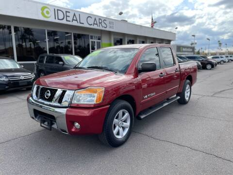 2013 Nissan Titan for sale at Ideal Cars Atlas in Mesa AZ