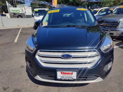 2018 Ford Escape for sale at Elmora Auto Sales in Elizabeth NJ