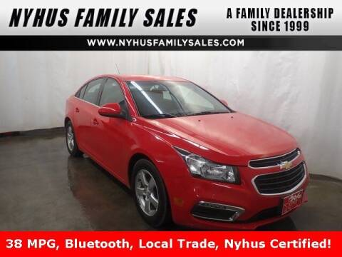 2015 Chevrolet Cruze for sale at Nyhus Family Sales in Perham MN