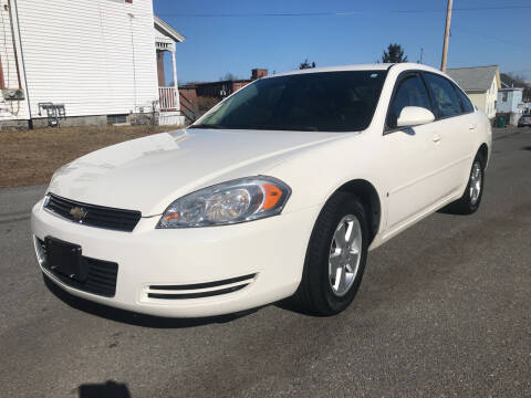 2007 Chevrolet Impala for sale at D'Ambroise Auto Sales in Lowell MA