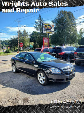 2012 Chevrolet Malibu for sale at Wrights Auto Sales and Repair in Dolgeville NY