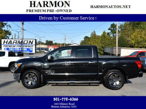 2017 Nissan Titan for sale at Harmon Premium Pre-Owned in Benton AR