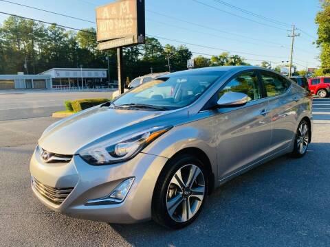 2015 Hyundai Elantra for sale at A & M Auto Sales, Inc in Alabaster AL