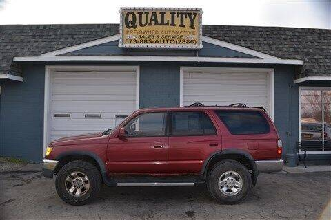 1996 Toyota 4Runner for sale at Quality Pre-Owned Automotive in Cuba MO
