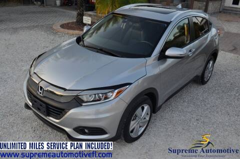 2019 Honda HR-V for sale at Supreme Automotive in Land O Lakes FL
