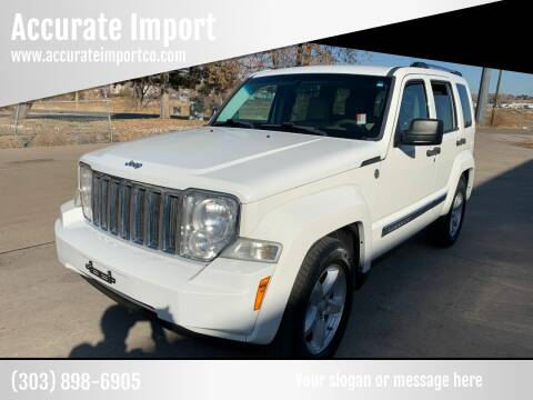 2009 Jeep Liberty for sale at Accurate Import in Englewood CO