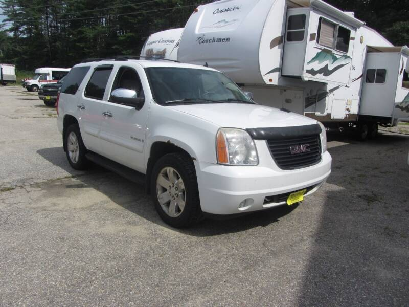 2007 GMC Yukon for sale at Jons Route 114 Auto Sales in New Boston NH