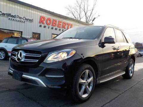 2017 Mercedes-Benz GLE for sale at Roberti Automotive in Kingston NY