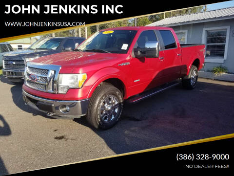 2011 Ford F-150 for sale at JOHN JENKINS INC in Palatka FL